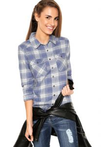 Camisa Billabong Flannel Frenzy Azul Billabong