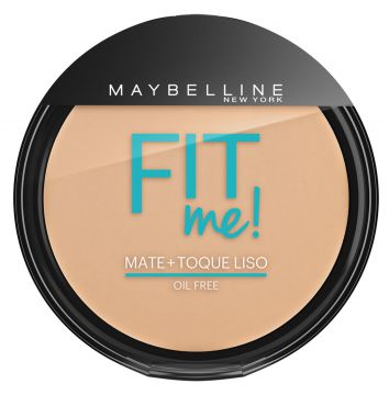 Pó Compacto Fit Me Claro Real 110 Maybelline 45g Maybelline