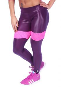 Calça Legging Rocks Team Grape Rocks Team