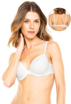 889218d82 Sutiã Liz Push-Up Lift Renda Branco Liz