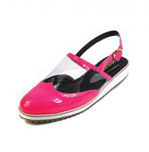 Slip on Louloux Vinil Pink Louloux