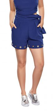 Short Modisch Alfaiataria Fashion Marinho Modisch