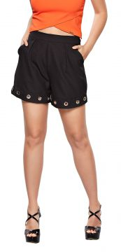 Short Modisch Alfaiataria Fashion Preto Modisch