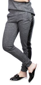 Calça Jogger It Shop Moleton Cinza It Shop