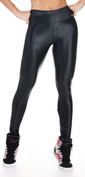 Calça Legging Lets Gym Essencial Cirrê Preto Lets Gym