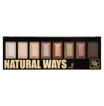 Paleta de Sombras 08 cores Natural Ways RK by Kiss