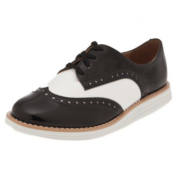 Oxford Vizzano Fashion Preto/Branco Vizzano