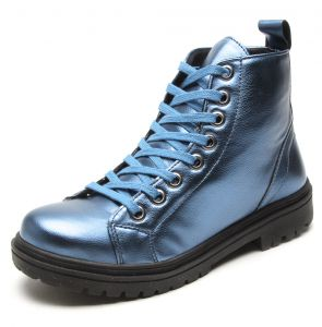 Bota DAFITI SHOES Tratorada Azul DAFITI SHOES