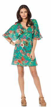 Vestido Sly Wear Estampado Verde Sly Wear