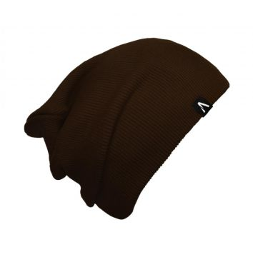 Gorro Beanie Action Clothing Dual Basic Marrom Action Cloth