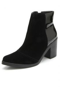 Bota DAFITI SHOES Verniz Preto DAFITI SHOES