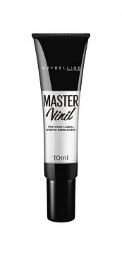 Batom Master Vinil Top Coat Maybelline 10ml Maybelline