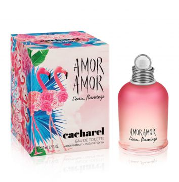 Perfume Amor Amor L eau Flamingo Cacharel 50ml Cacharel