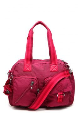 Bolsa Kipling Basic Ewo Defea Retro Red Rosa Kipling