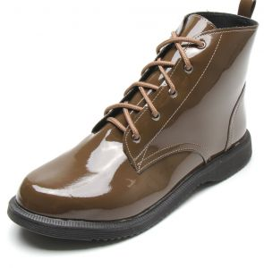 Bota DAFITI SHOES Verniz Verde DAFITI SHOES