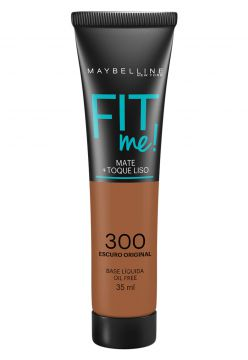 Base Maybelline Fit Me 300 Escuro Original 35ml Maybelline