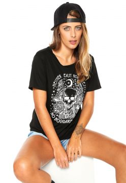 Blusa Billabong East Or West Preta Billabong