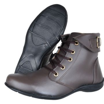 Bota Estilo Casual Anthony Style Marrom Anthony Style