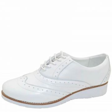 Oxford DR Shoes Casual Branco DR Shoes