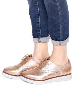 Oxford Bebecê Brogue Bronze Bebecê