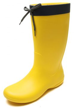 Galocha Crocs Freesail Rain Boot Amarela Crocs