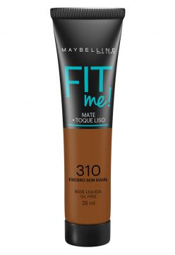 Base Maybelline Fit Me 310 Escuro Sem Igual 35ml Maybelline
