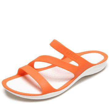 Sandália Crocs Swiftwater Laranja Crocs