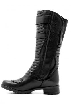 Bota Motociclista Atron Shoes Militar Preto Atron Shoes