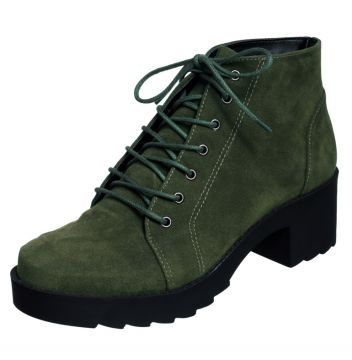 Bota Frida Shoes Coturno Tratorado Militar Frida Shoes