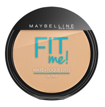 Pó Compacto Fit Me Claro Diferente 130 Maybelline 45g Maybe
