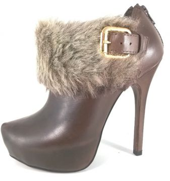 Ankle Boot TopGrife Marrom TopGrife