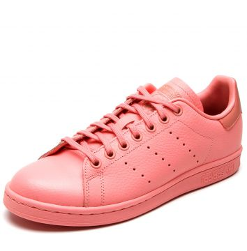 timeless design 98d3e becdd Tênis Couro adidas Originals Stan Smith J Rosa adidas Origi