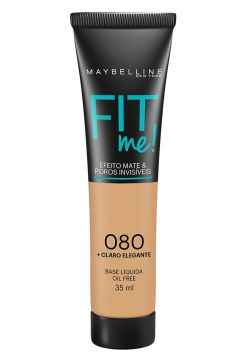 Base Fit Me 080 Claro Elegante Maybelline 35ml Maybelline