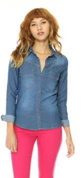 Camisa Lady Rock Mell Jeans Lady Rock