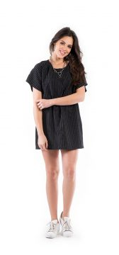 Vestido Walk Trendy Casual Preto Walk Trendy