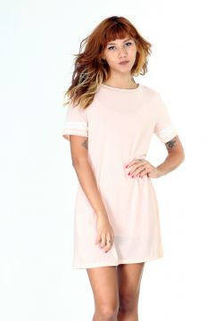 Vestido Lady Rock de Tule Rosa Lady Rock