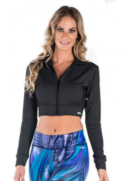 Jaqueta Greenjam Cropped Preto Greenjam