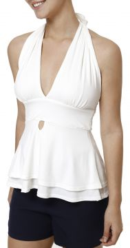 Blusa Regata Feminina Autentique Off white Autentique