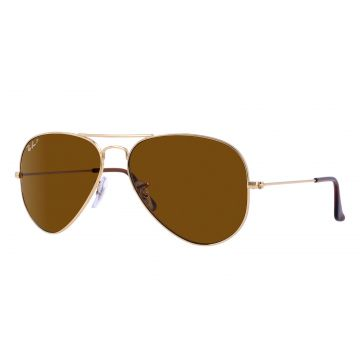 fcd2be646026a Óculos De Sol Ray-Ban Aviator Clássico RB3025 Ouro Ray-Ban