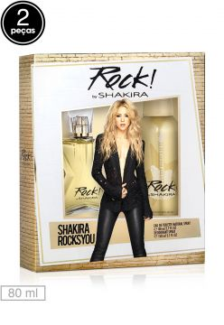 Kit 2pçs Perfume Rock By Shakira 80ml Shakira