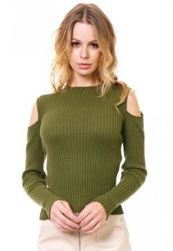 Blusa Manga Longa Beautifull Hit Verde Militar Beautifull H