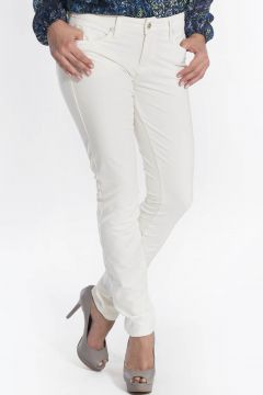 Calça Jeans Canal Skinny Off White Canal