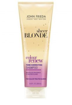 Shampoo Sheer Blonde Color Renew Tone Restoring 250ml John