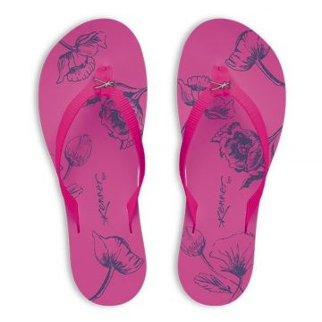 Chinelo Kenner Lips Kyra Slim Sketch Rosa 745