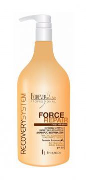 Shampoo Forever Liss Reparador Force Repair 1L Forever Liss