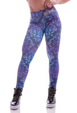 Legging Advance Clothing Estampada Roxa Advance Clothing
