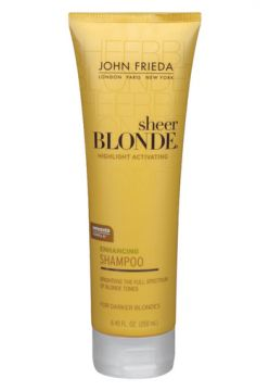 Shampoo Blonde Highlight Activating Enhancing John Frieda