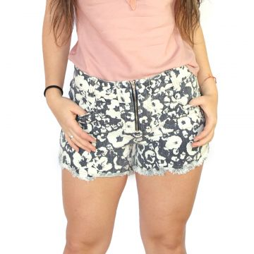 Short Axia Shop Estampado Azul Axia Shop