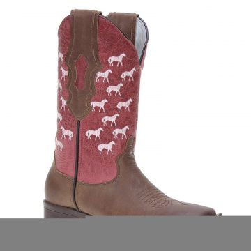 Bota Feminina Country Marrom Cow Way 21164 Cow Way