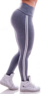 Legging Advance Clothing Comfort Fit Cinza Advance Clothing